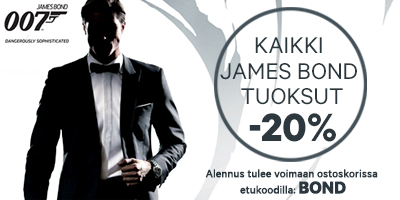 James Bond tuotteet -20%