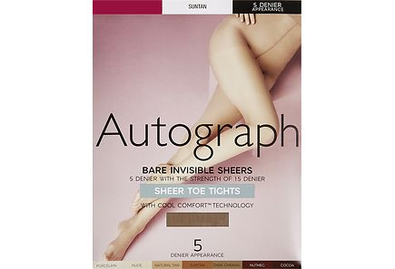 Marks & Spencer - M&S Autograph Bare Invisible 5 DEN sukkahousut