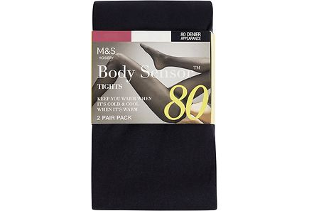 Marks & Spencer - M&S Body Sensor™ 80 DEN sukkahousut 2 paria