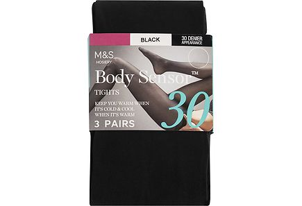 Marks & Spencer - M&S Body Sensor™ 30 DEN sukkahousut, 3-pack