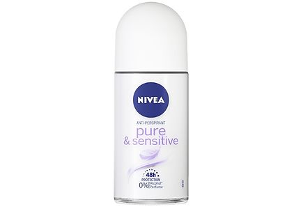 Nivea - NIVEA 50ml Pure & Sensitive Deo Roll-on -antiperspirantti