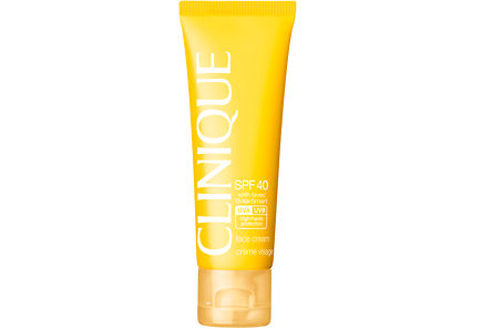 Clinique - Clinique Sun Broad Spectrum SPF 40 Sunscreen Face Cream aurinkosuojavoide kasvoille 50 ml