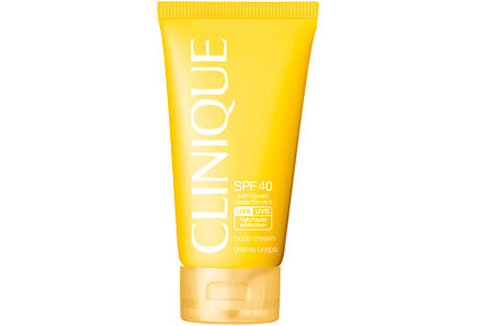 Clinique - Clinique Sun Broad Spectrum SPF 40 Sunscreen Body Cream aurinkosuojavoide vartalolle 150 ml