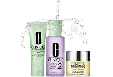 Clinique - Clinique Dramatically Different Moisturizing Cream Intro Kit Skintype 2 ihonhoitopakkaus
