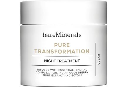 bareMinerals - bareMinerals Pure Transformation Night Treatment jauhe 4,2 g