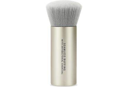 bareMinerals - bareMinerals Seamless Buffing Brush with Antibacterial Charcoal -Blemish Rescue meikkipohjan sivellin