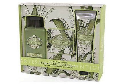 AAA - Aromas Artesanales de Antigua - AAA Body Care Collection Lily Of The Valley lahjapakkaus