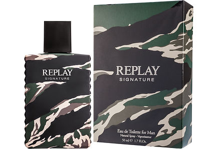 REPLAY - Replay Signature for Him EdT 50 ml