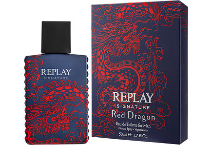 REPLAY - Replay Signature Red Dragon EdT 50 ml