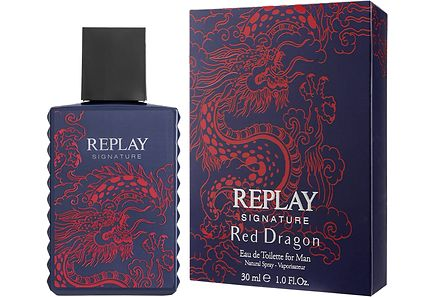 REPLAY - Replay Signature Red Dragon EdT hajuvesi 30 ml