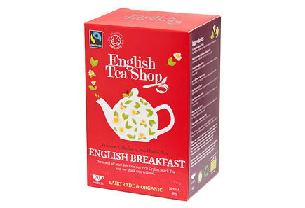 English Tea Shop - English Tea Shop luomutee english breakfast 20pss 40g