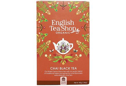 English Tea Shop - English Tea Shop 40g Luomu Tee Black Chai 20 pss