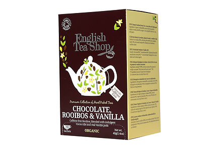 English Tea Shop - ETS 40g Rooibos Chocolate luomuhauduke