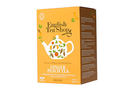 English Tea Shop - ETS 40g Ginger Peach luomutee