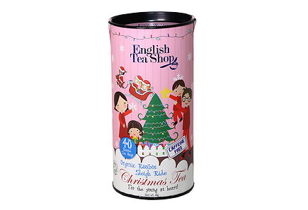 English Tea Shop - English Tea Shop 60g Rooibos Sleigh Ride tee 40pss Luomu