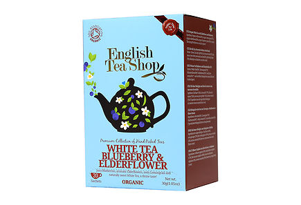 English Tea Shop - ETS 30g White Blueberry luomutee