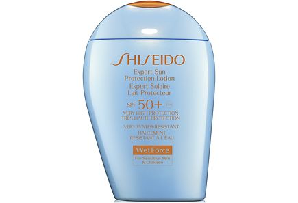 Shiseido - Shiseido Suncare Expert Sun Protection Lotion SPF50+ for Sensitive Skin and Children aurinkosuojaemulsio 100 ml