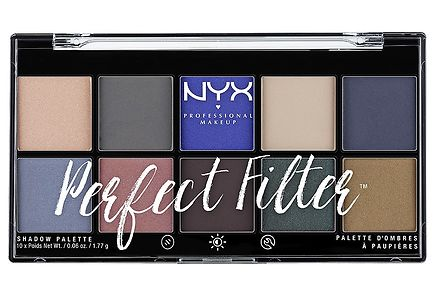 NYX Professional Makeup - NYX Professional Makeup Perfect Filter Eye Shadow luomiväripaletti 17,7g