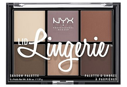 NYX Professional Makeup - NYX Professional Makeup Lid Lingerie Shadow Palette luomiväripaletti 8,22 g