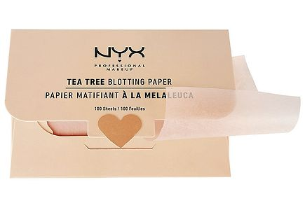 NYX Professional Makeup - NYX Professional Makeup Tea Tree Blotting Paper meikkipaperi 100 kpl