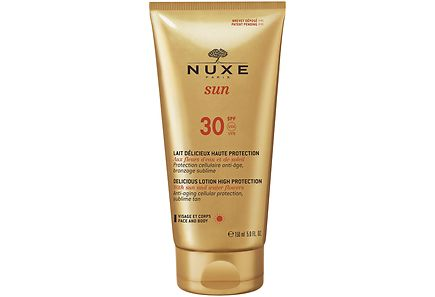 Nuxe - Nuxe Sun Delicious Lotion for Face and Body SPF 30 aurinkosuoja 150 ml