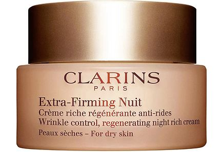 Clarins - CLARINS Extra-Firming Nuit Wrinkle Control Regenerating Night Comfort Cream yövoide 50 ml