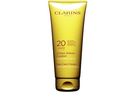 Clarins - CLARINS Sun Care Cream Moderate Protection UVB 20 UVA aurinkovoide vartalolle 200 ml