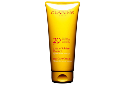 Clarins - Clarins Sun Care Cream Moderate Protection UVB 20 UVA -aurinkosuojavoide vartalolle 200 ml