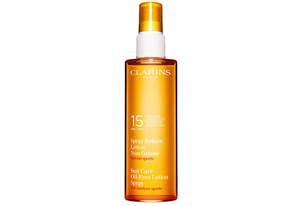 Clarins - Clarins Sun Care Oil-Free Lotion Spray Moderate Protection