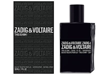 Zadig & Voltaire - Zadig&Voltaire This is Him! EdT tuoksu 30 ml