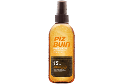 Piz Buin - Piz Buin Wet Skin Transparent Spray SK15 aurinkosuojasuihke 150 ml