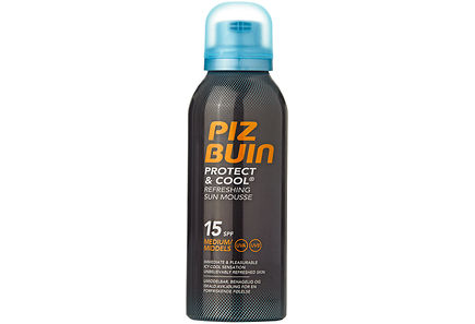 Piz Buin - Piz Buin Protect&Cool Refreshing Sun Mousse SPF15 aurinkosuojavaahto 150 ml