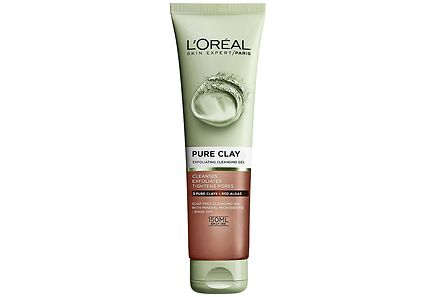L'Oréal Paris - L'Oréal Paris Pure Clay 150ml Exfoliating Gel kuoriva puhdistusgeeli