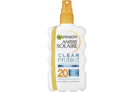 Garnier - Ambre Solaire Clear Protect Refresh aurinkosuojasuihke SK20 200ml