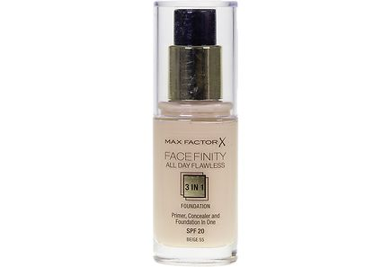 Max Factor - Max Factor Facefinity All Day Flawless 3in1 Foundation 55 Beige 30ml