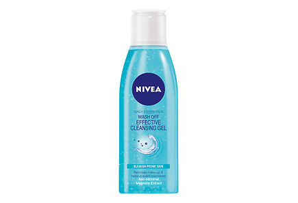 Nivea - NIVEA 200ml Daily Essentials  Wash Off Effective Cleansing Gel puhdistusgeeli epäpuhtaalle iholle