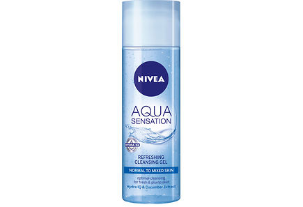 Nivea - NIVEA 200ml Aqua Sensation Invigorating Cleansing Gel puhdistusgeeli