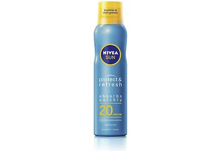 Nivea - NIVEA SUN 200ml SK20 Protect & Refresh Sun Spray Mist -aurinkosuojasumute