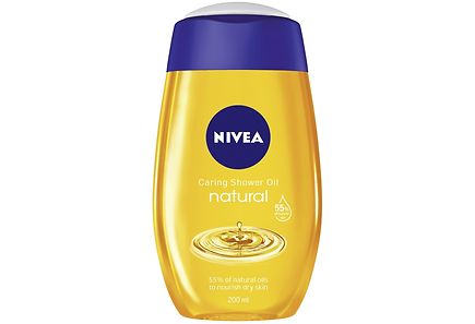Nivea - NIVEA 200ml Rich Caring Shower Oil -suihkuöljy