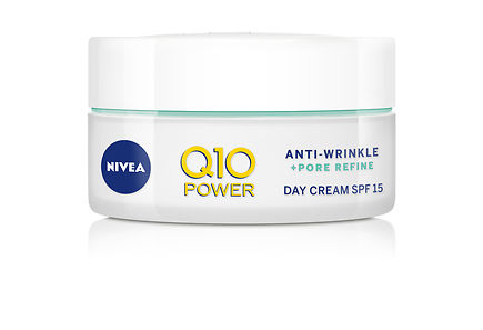 Nivea - NIVEA 50ml Q10 POWER Anti-Wrinkle + Pore Refine Day Cream -päivävoide sk 15 sekaiholle