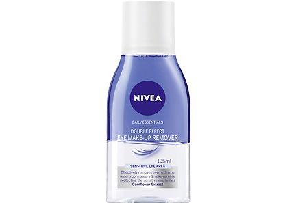 Nivea - NIVEA 125ml Daily Essentials Double Effect Eye Make-up Remover -silmämeikinpoistoaine