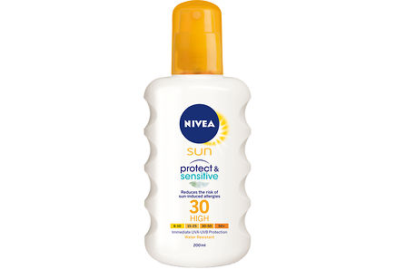 Nivea - NIVEA SUN 200ml sk30 Protect & Sensitive Sun Spray -aurinkosuojasuihke
