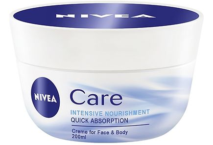 Nivea - NIVEA 200ml Care Nourishing Cream -kosteusvoide
