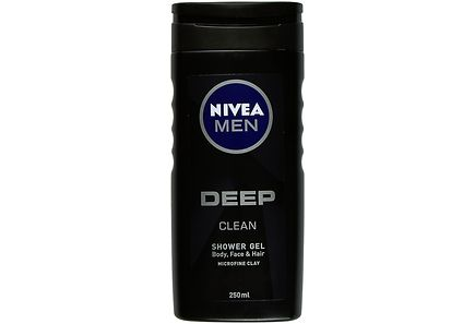 Nivea - NIVEA MEN 250ml Deep Shower Gel -suihkugeeli