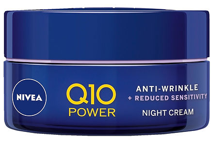 Nivea - NIVEA 50ml Q10 POWER Anti-Wrinkle + Soothing Night Cream -yövoide