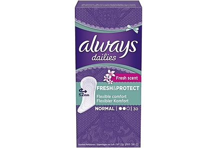 Always - Always 30kpl Fresh Normal pikkuhousunsuoja