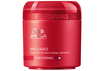 Wella Professionals - Wella Professionals Care Brilliance Treatment for Fine to Normal, Colored Hair tehohoito 150 ml