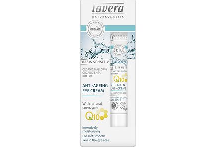 Lavera - lavera Basis Sensitiv Eye Cream Q10 silmänympärysvoide 15ml