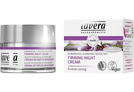 Lavera - Lavera Karanja Oil Organic White Tea Night Cream yövoide 50 ml