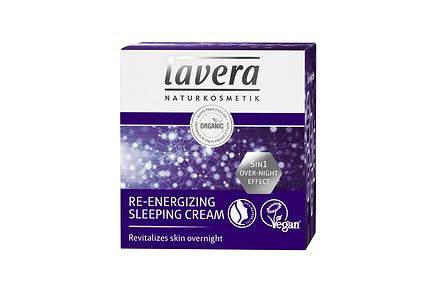 Lavera - lavera Re-Energising Sleeping Cream yövoide 50ml